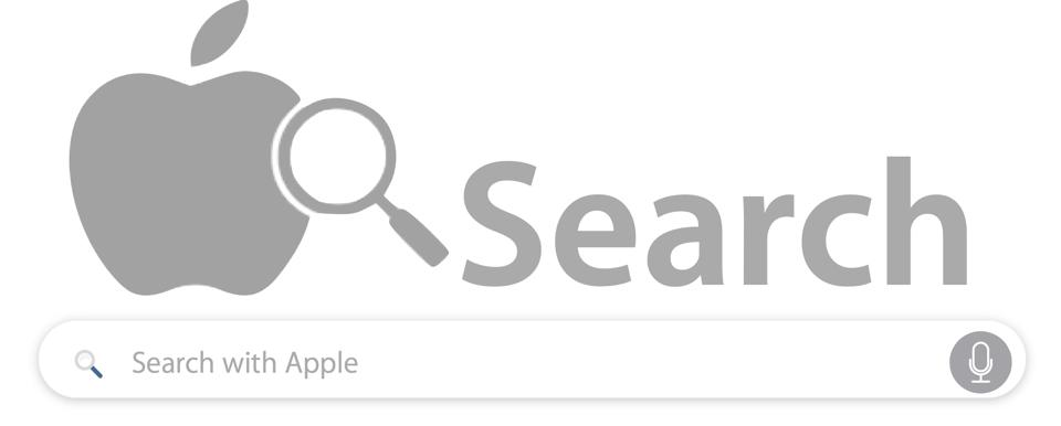 How an Apple search engine could look like