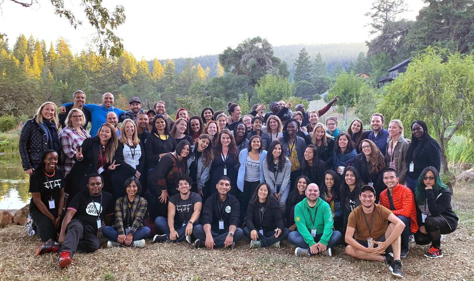 The team at AI company Samasource