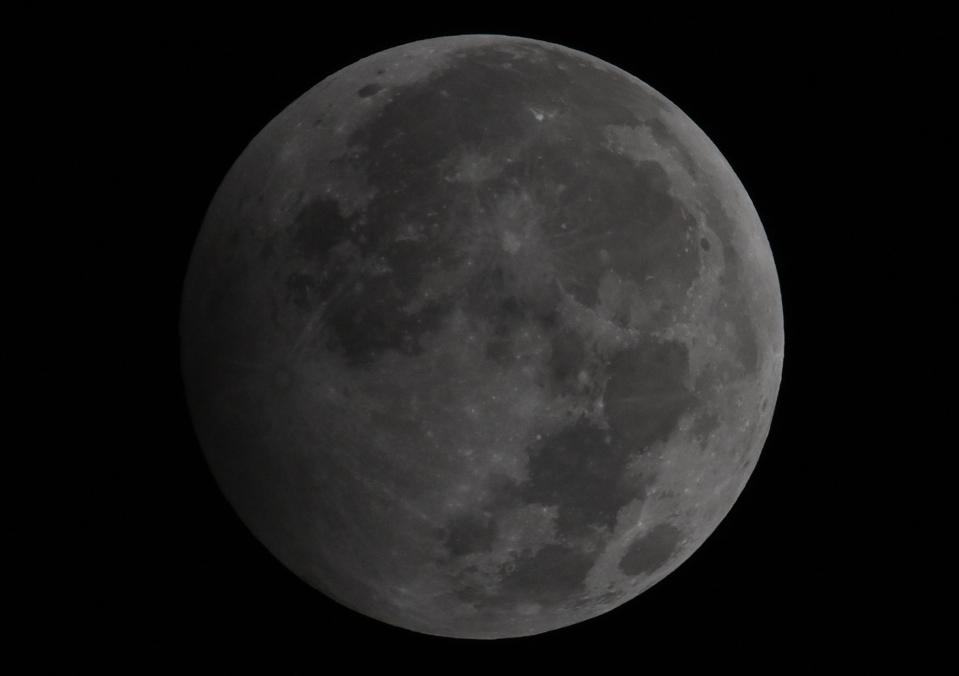 The penumbral lunar eclipse will see the full Moon dim.
