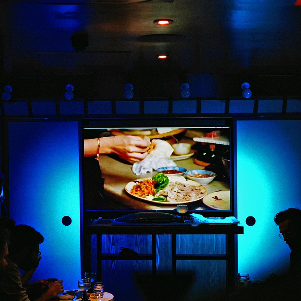 Dine in Cinema, a new dining experience from Bao and Mubi