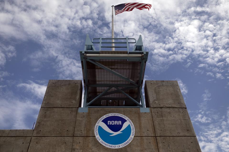 Florida Governor Ron DeSantis Visits Hurricane Center Ahead Of Hurricane Dorian