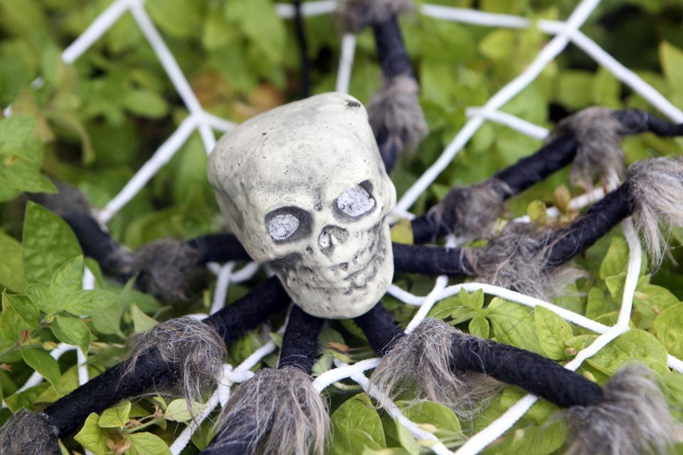 Halloween decorations in Leeds 2020