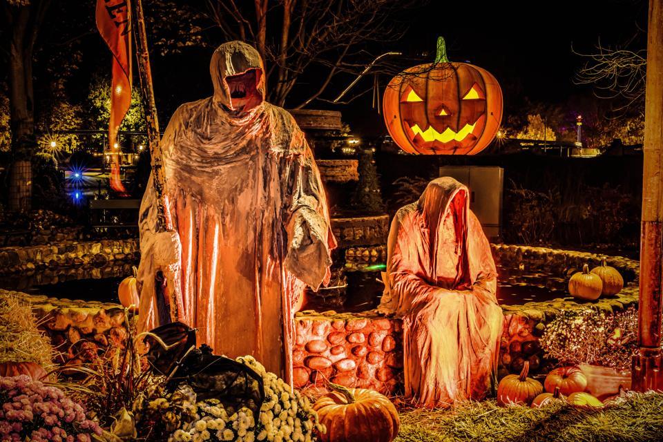 Creepy fun on Halloween in Germany