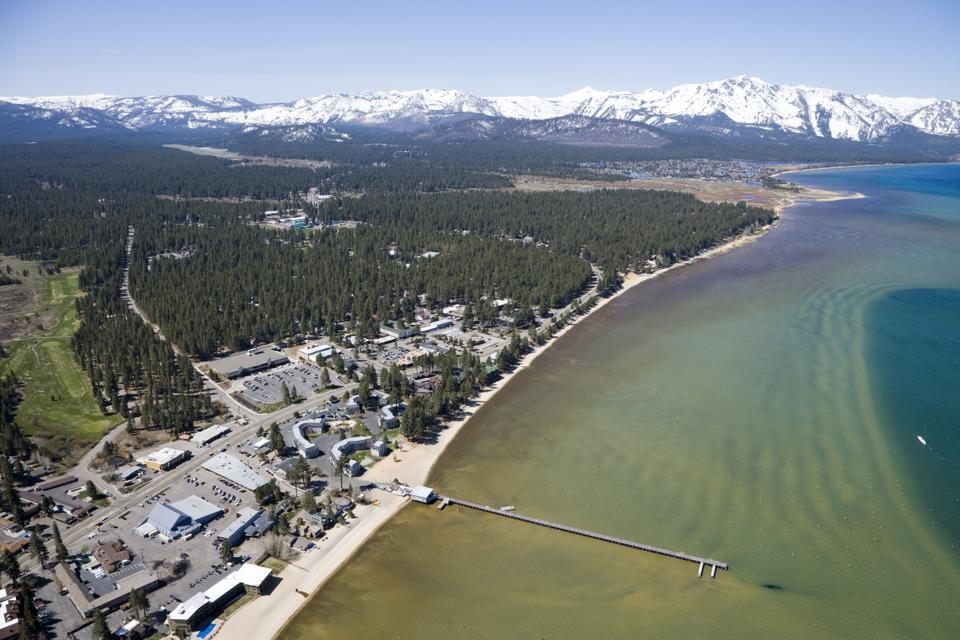 South Lake Tahoe Aerial