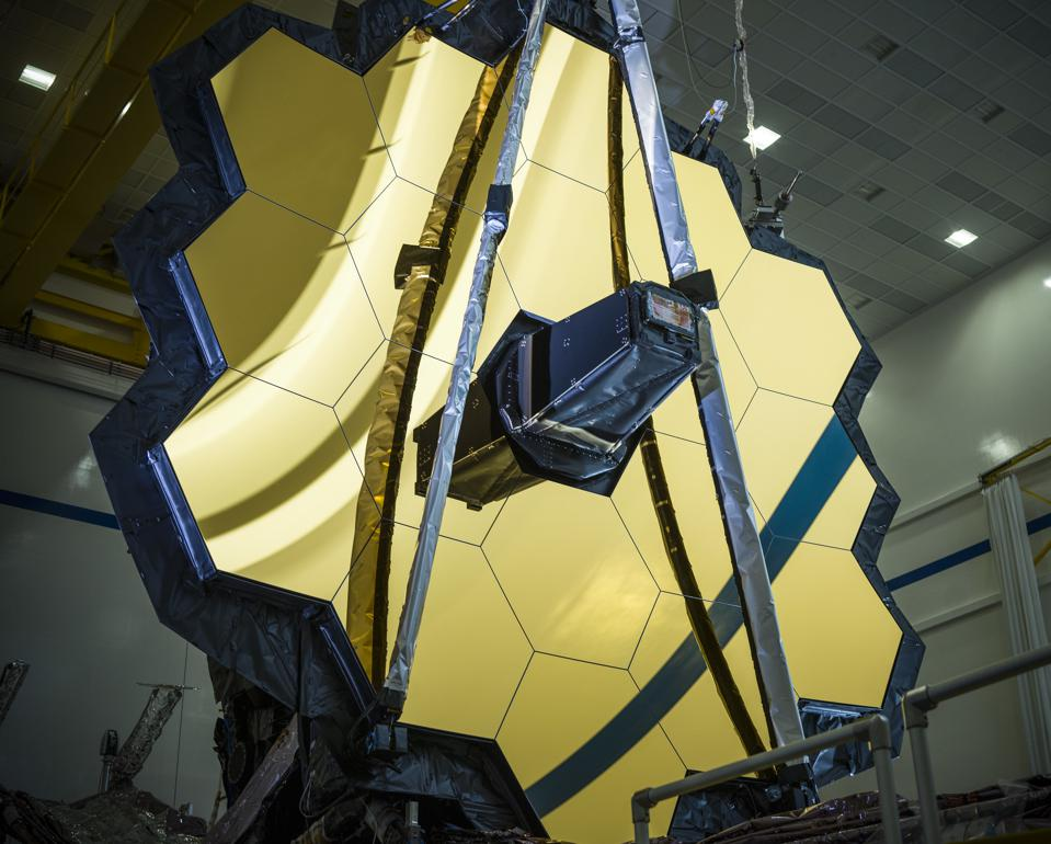 NASA's James Webb Space Telescope has been assembled into its final form. It will launch on October 31, 2021.