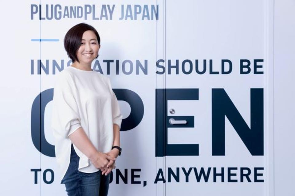 Fujimoto Ayumi of Plug and Play Japan