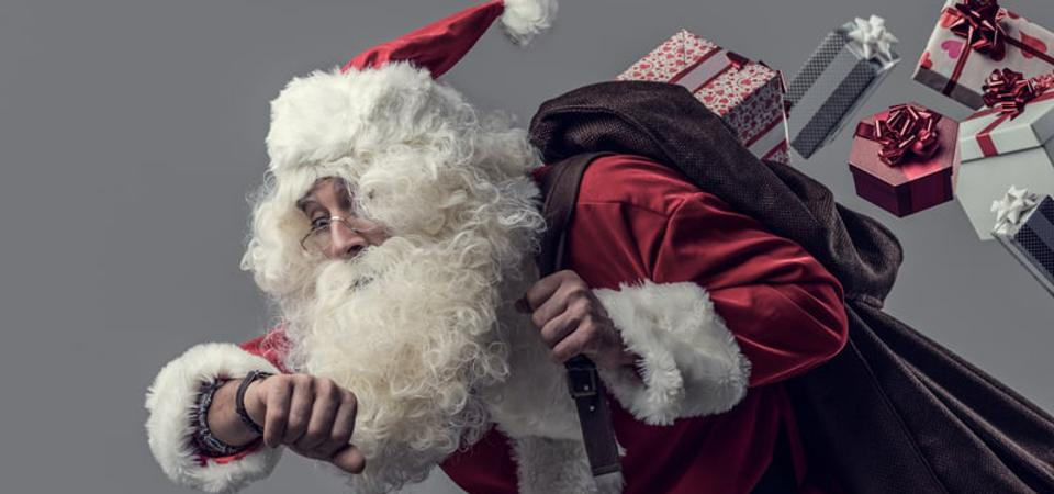 Supply-chain whiplash causes delays with Santa's on-time arrival this year.