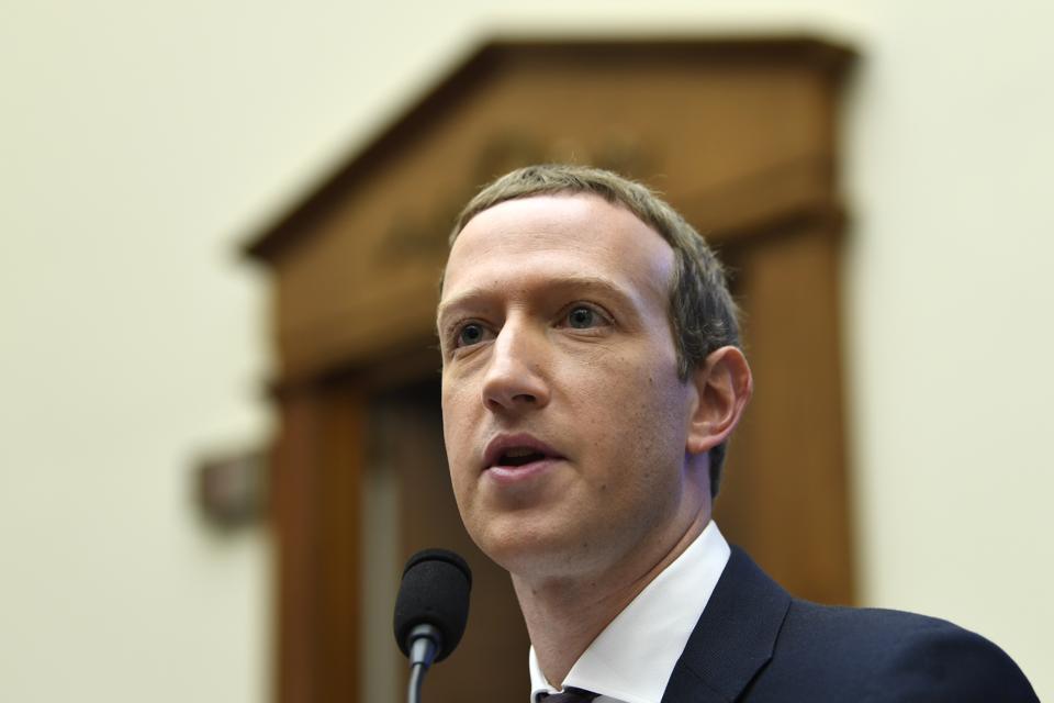 Congrès Facebook Zuckerberg