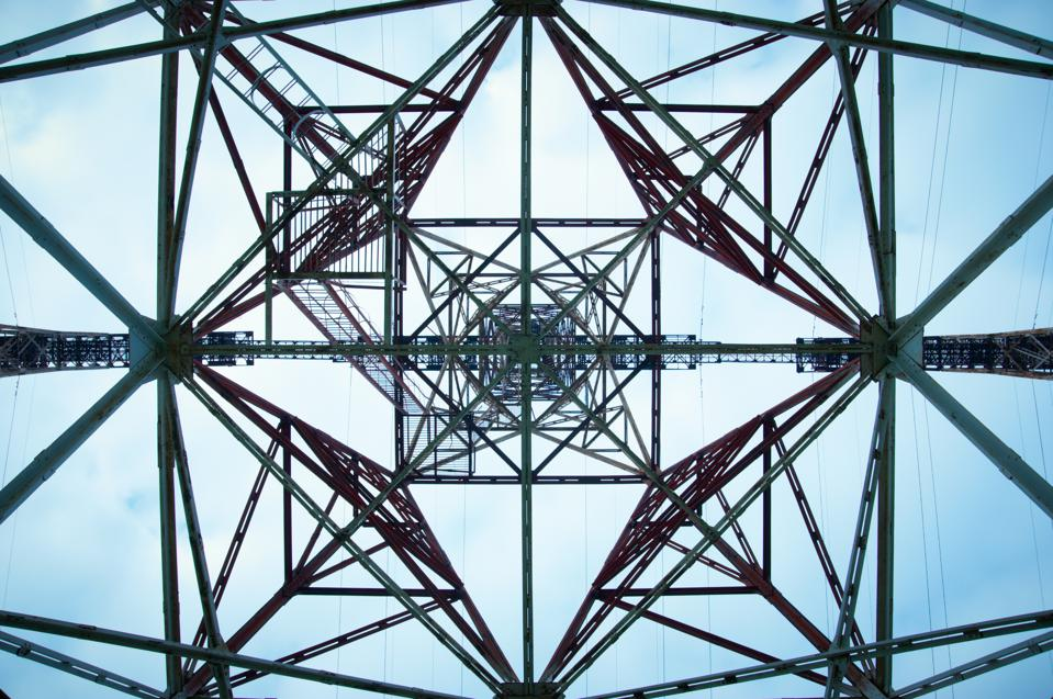 geometry of high voltage tower