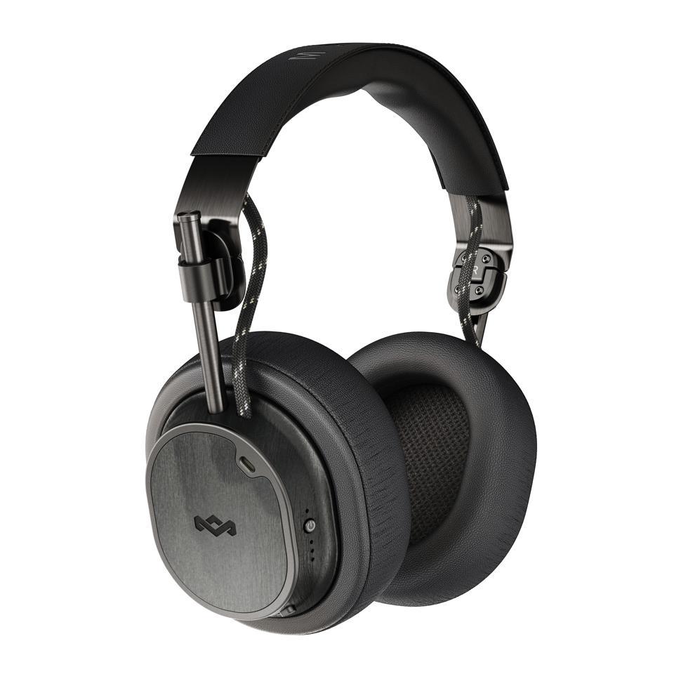 black noise canceling headphones