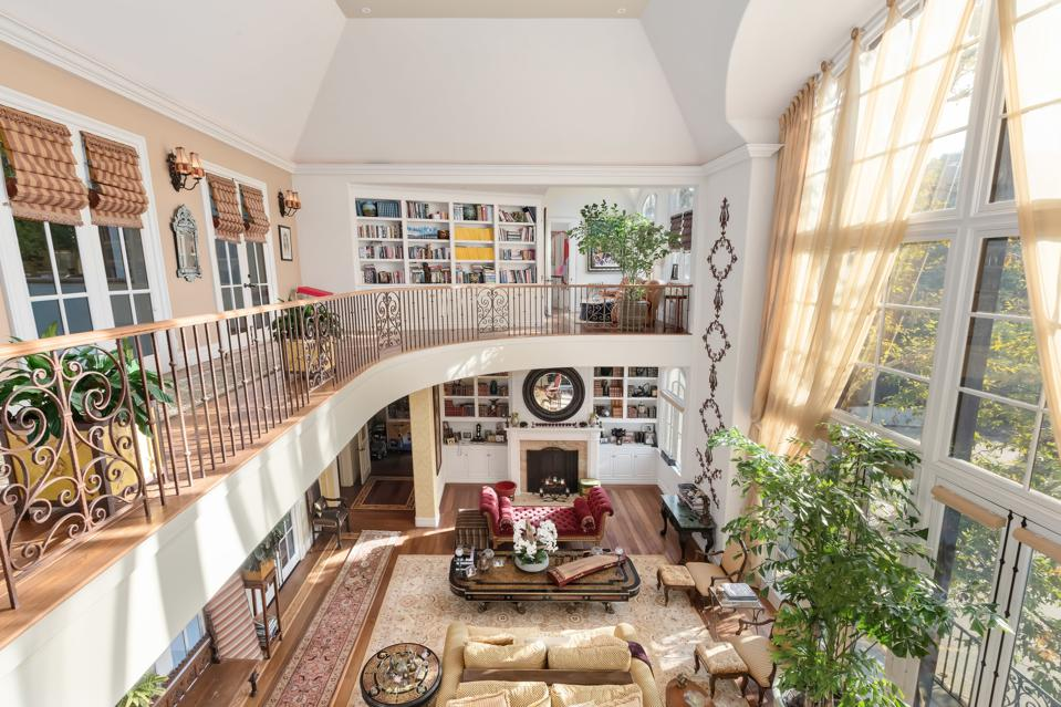 KISS, Gene Simmons, Rock and Roll, California, great room, balcony, luxury, real estate,