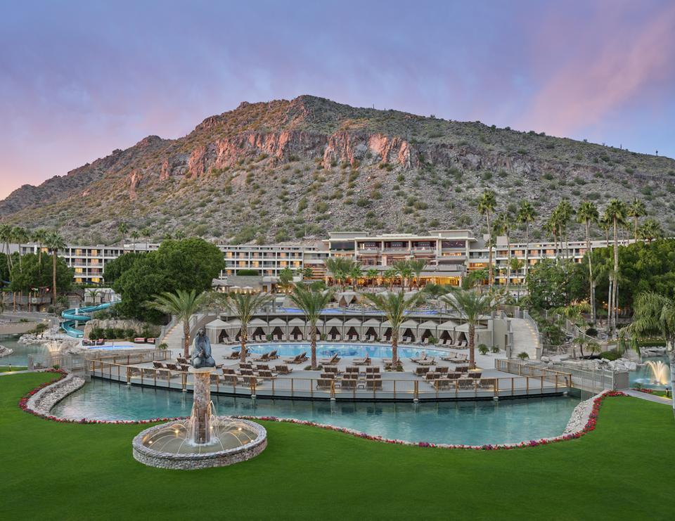 The Phoenician Resort in Phoenix, Arizona