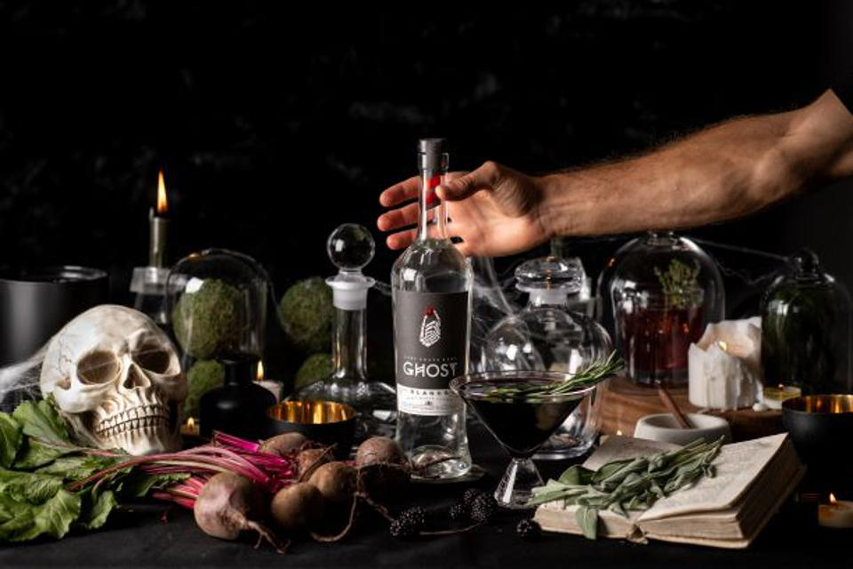 Celebrate Halloween with a spooky spirit like Ghost Tequila.