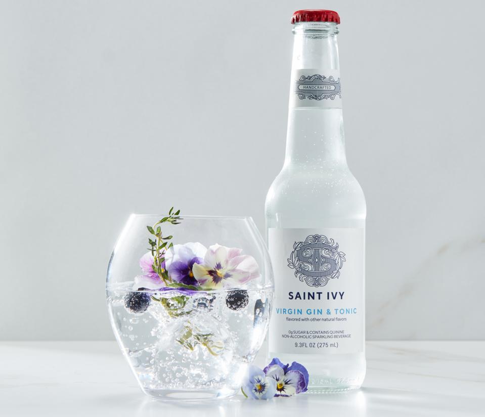 A bottle of Saint Ivy
