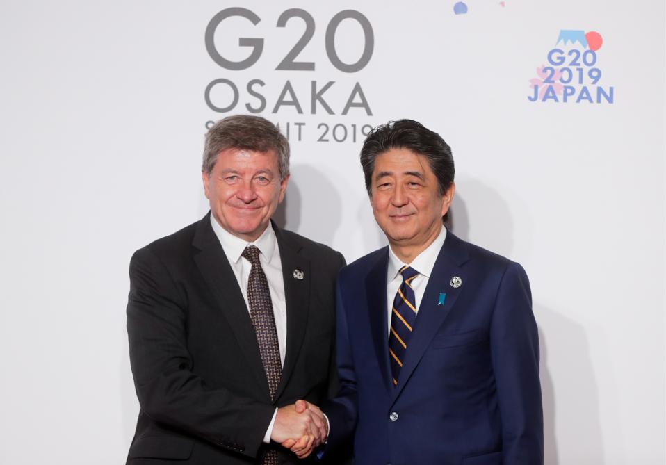 2019 G20 Summit in Osaka, Japan