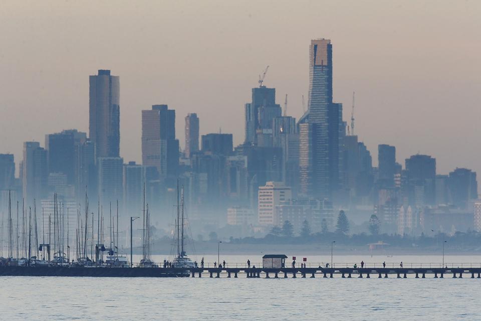 Melbourne, Australia, where the MV Metis Leader was impounded