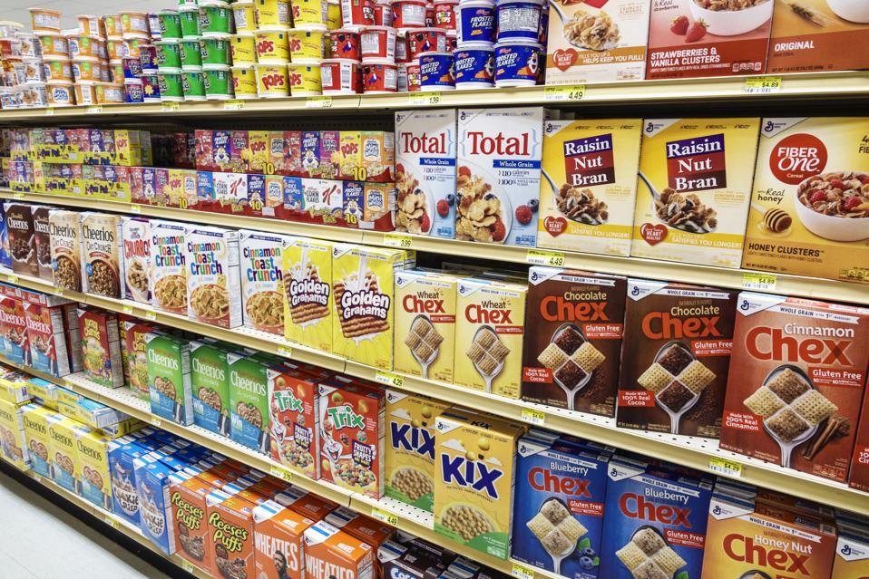 Sanibel Island, Jerrys Foods, grocery store, breakfast cereal aisle