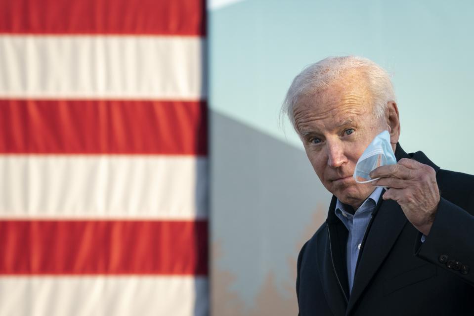 Presidential Candidate Joe Biden Campaigns In St. Paul, Minnesota