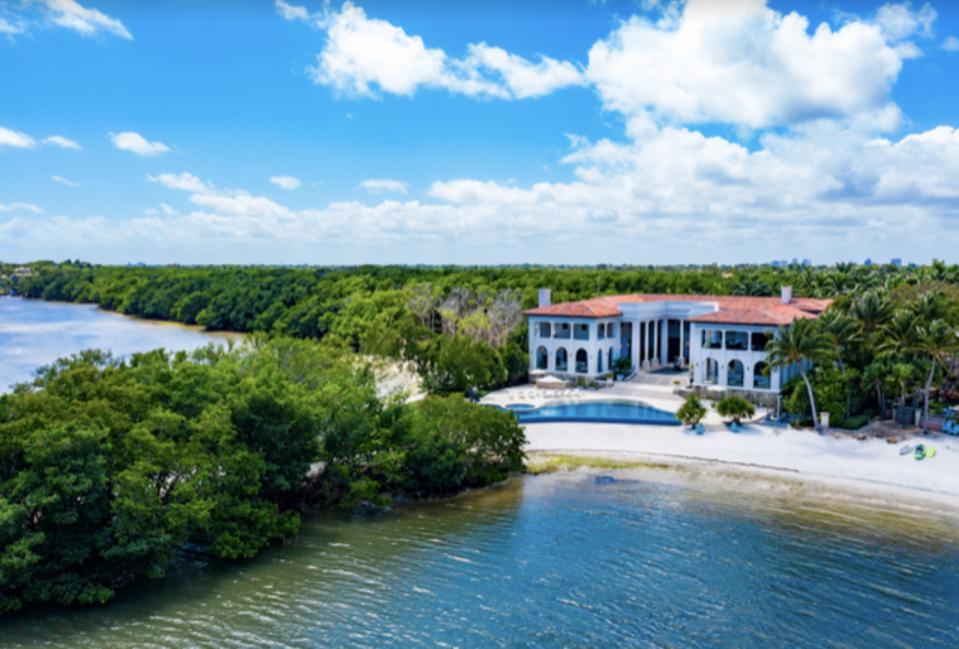 Tahiti Beach Island, Miami, Coral Gables, private beach, exclusive, gated community, real estate