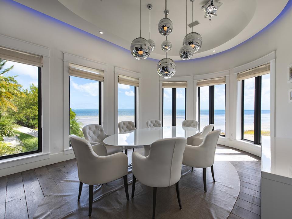 Tahiti Beach Island, Miami, Coral Gables, private beach, exclusive, dining room
