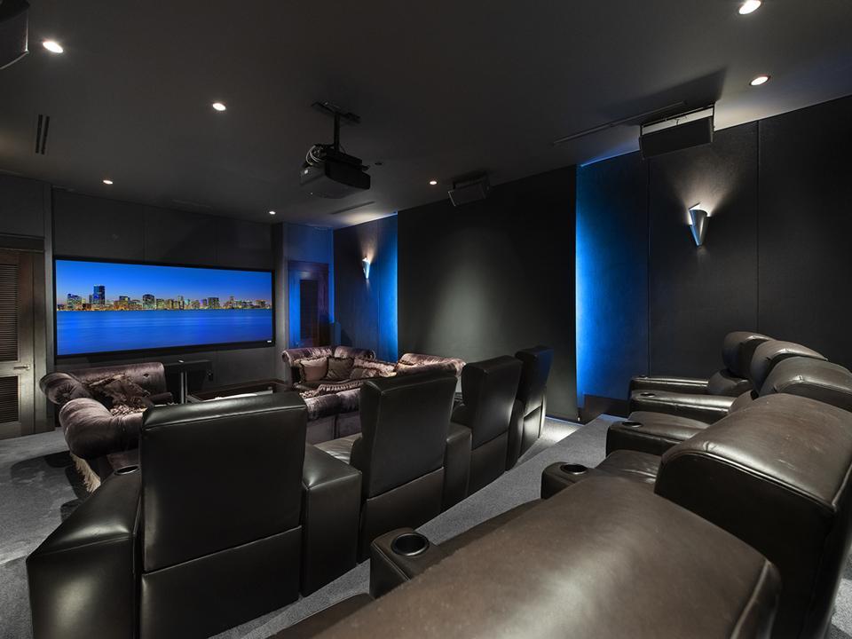 Tahiti Beach Island, Miami, Coral Gables, private beach, exclusive, luxury, home theater