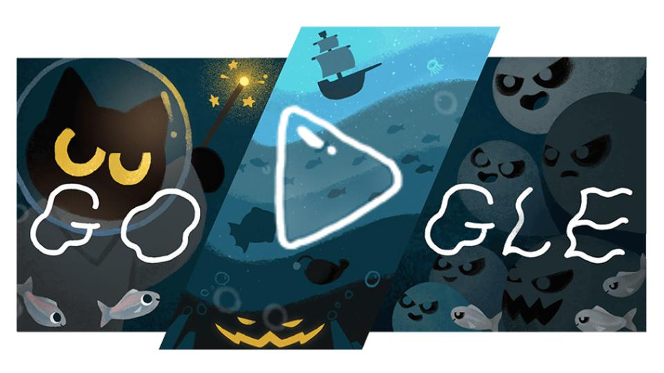 dive into halloween with today s google doodle halloween with today s google doodle