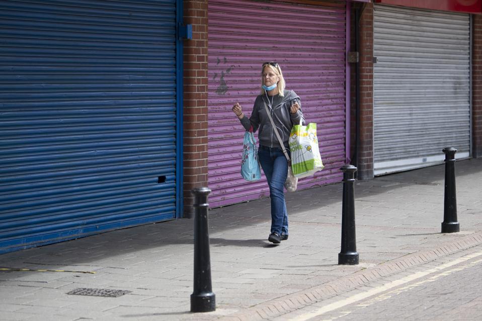 Stores Closed Due To Coronavirus Lockdown