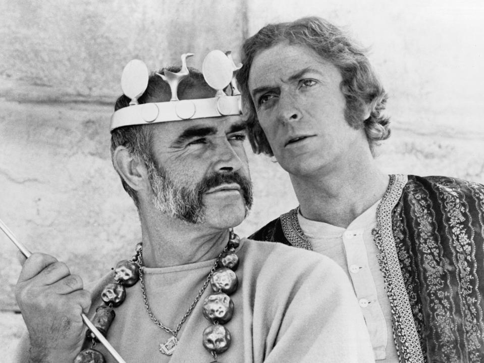 Sean Connery And Michael Caine In 'The Man Who Would Be King'