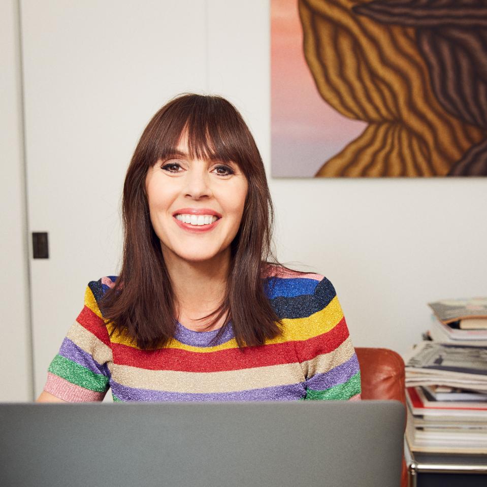 Laura Belgray, founder of Talking Shrimp.