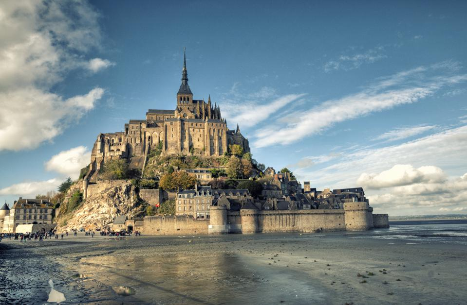 Mont Saint-Michel, one of the highlights of a trip to Normandy.