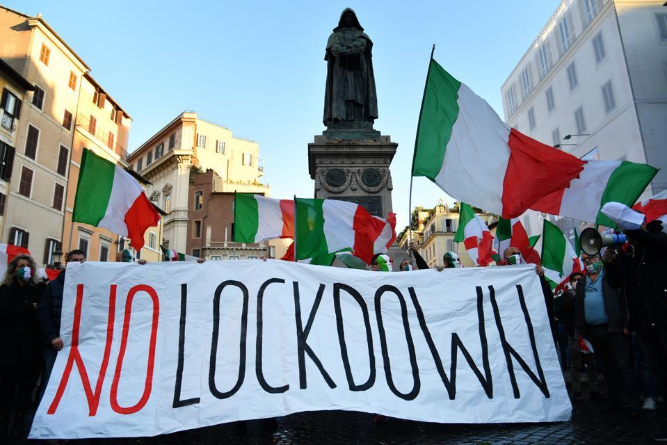ITALY-HEALTH-VIRUS-PROTEST