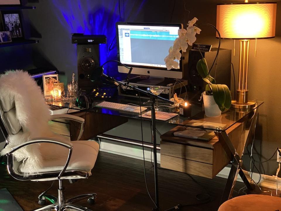 Jackie Schimmel recording studio