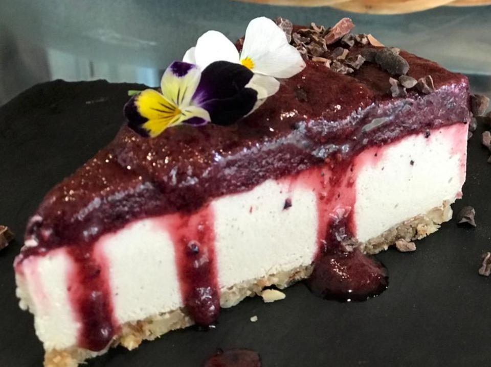 A fusion of functional foods and gourmet dessert.