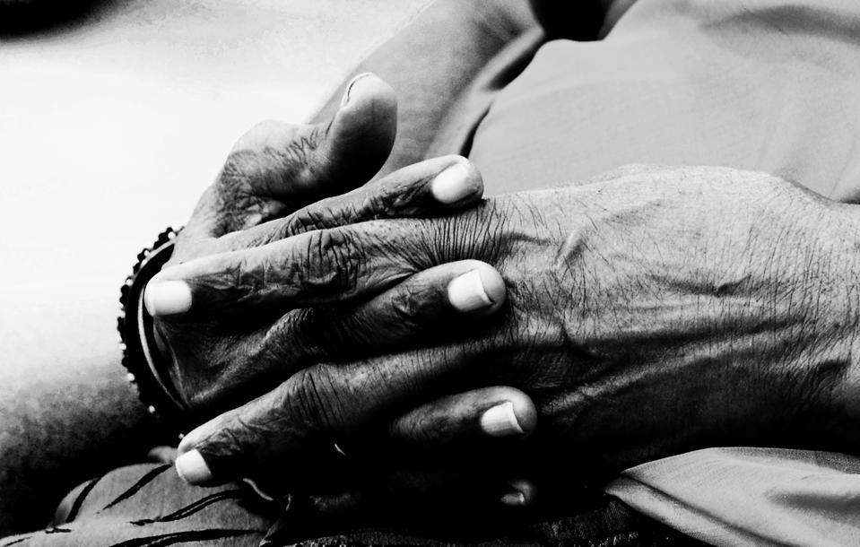 An Elder Woman's Hands