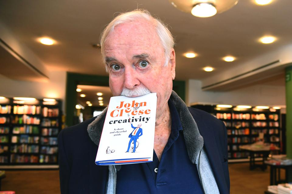 ″Creativity: A Short and Cheerful Guide″ By John Cleese - Photocall