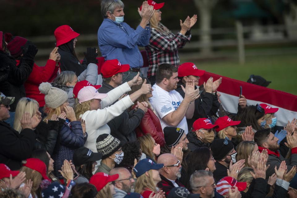 President Trump Campaign Rallies Covid-19 coronavirus infections and deaths