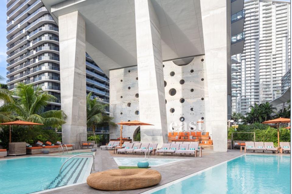 EAST Miami has 4 gorgeous pools
