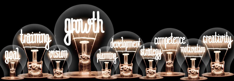 Light Bulbs with Growth Concept