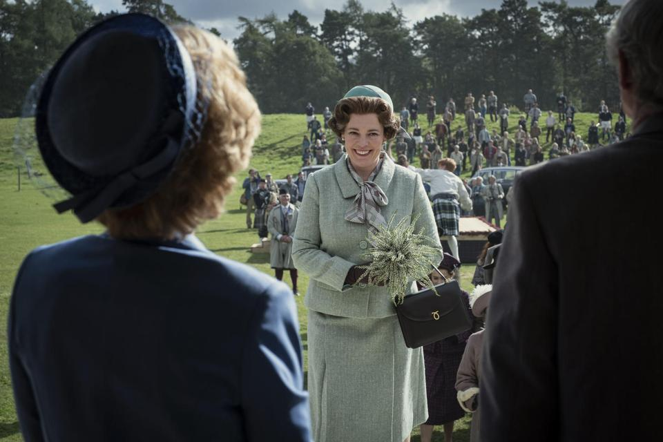 Scene from Netflix's 'The Crown'