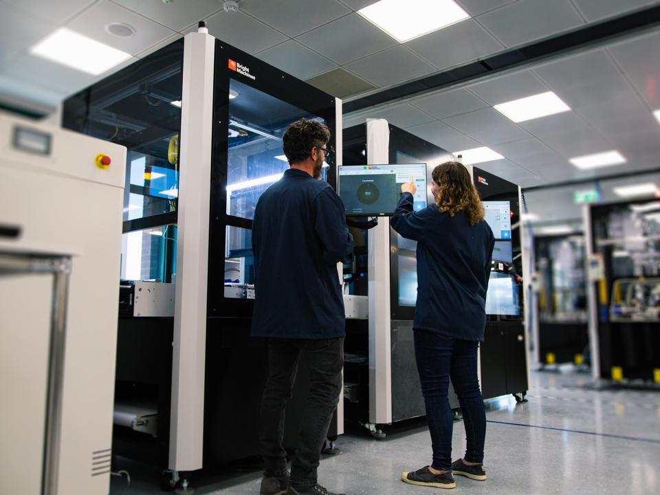 Bright Machines Microfactory in Tel Aviv, Israel