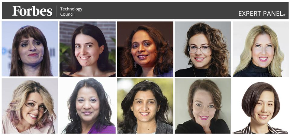 Photos of featured Forbes Technology Council members
