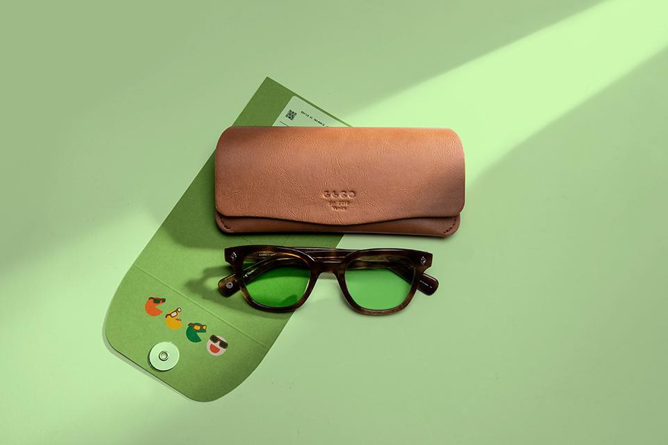 The green lenses from the Relax lenses can help you wind down at the end of the day