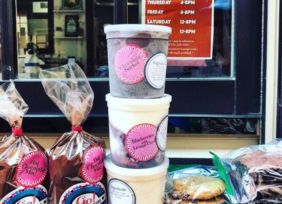 Go Ice Cream pints