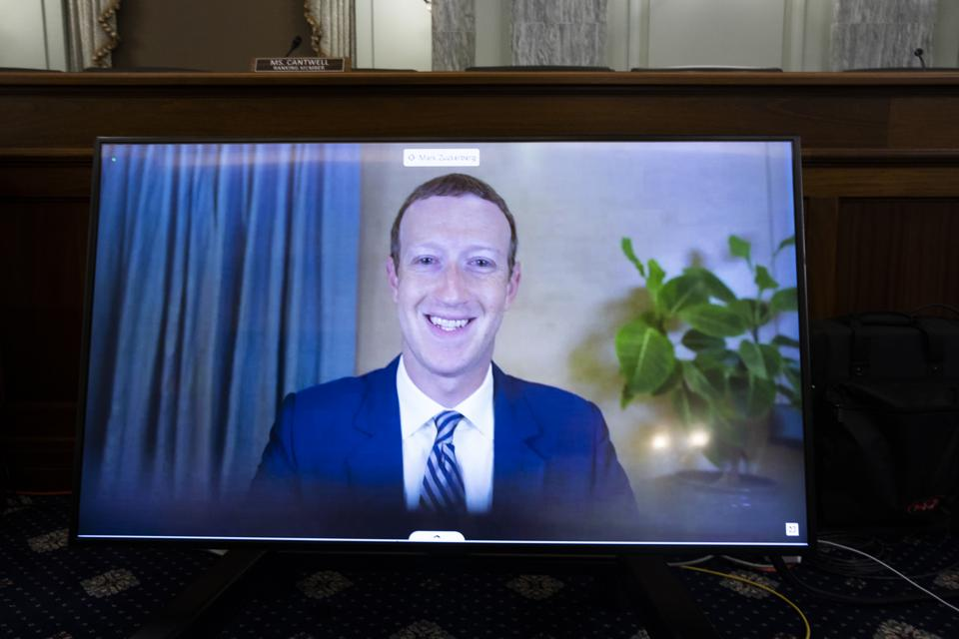 Big Tech CEO's Testify Before Senate On Section 230 Immunity