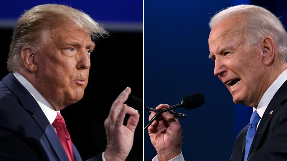 Trump-Biden debate on Oct. 22, 2020.