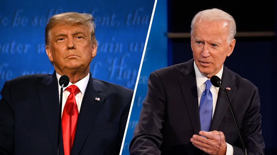 Donald Trump and Joe Biden spent a around $13.8 million on Facebook ads last week.