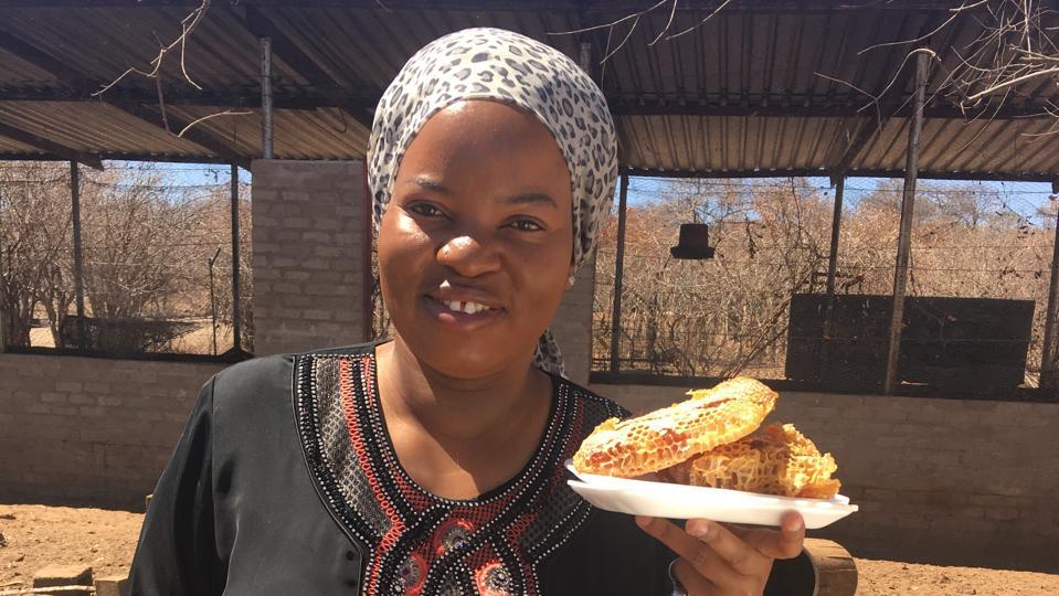 Mavis Nduchwa, founder and CEO of Chabana Farms