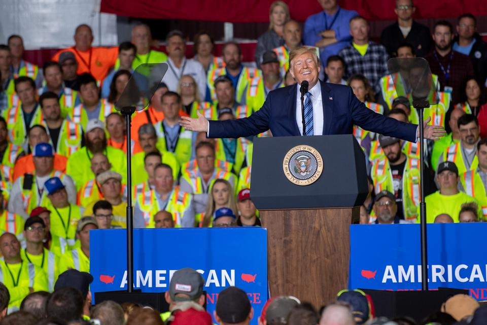 President Trump Visits Shell Pennsylvania Petrochemicals Complex