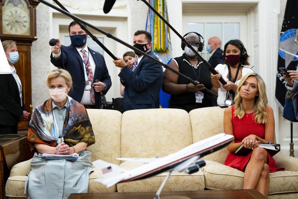 Dr. Deborah Birx, Trump advisor, White House Covid-19 coronavirus Task Force