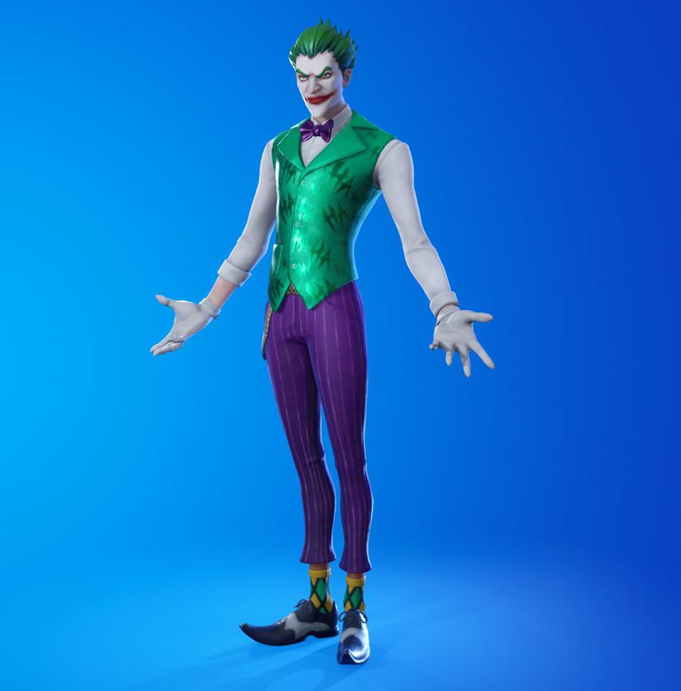 New Leaked Fortnite Skins Include Poison Ivy Joker And A Ps5 Exclusive